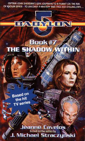 Babylon 5 novel The Shadow Within cover