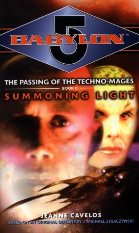 Babylon 5 novel Summoning Light cover